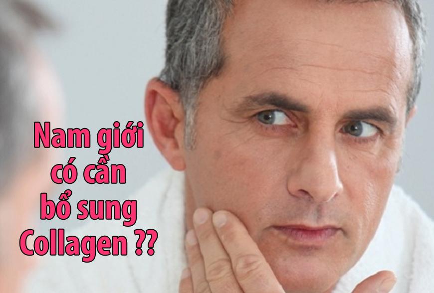Collagen cho nam giới có thực sự cần thiết