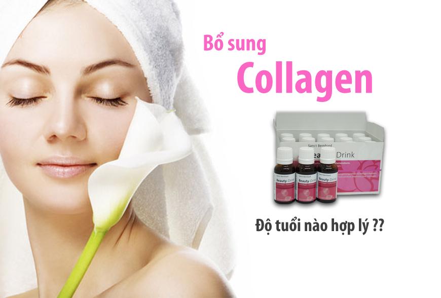 Độ tuổi nào phù hợp sử dụng Collagen