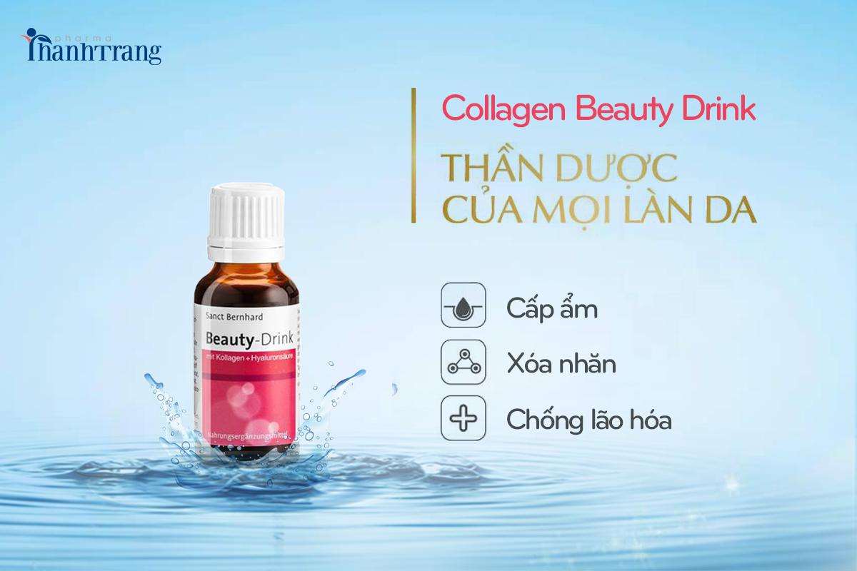Collagen nước - Thần dược giúp bạn trẻ hóa làn da