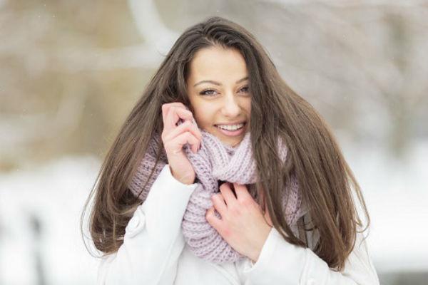 Chăm sóc tóc vào mùa đông đúng cách