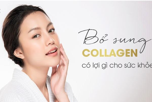 Những lợi ích tuyệt vời mà collagen nước mang lại