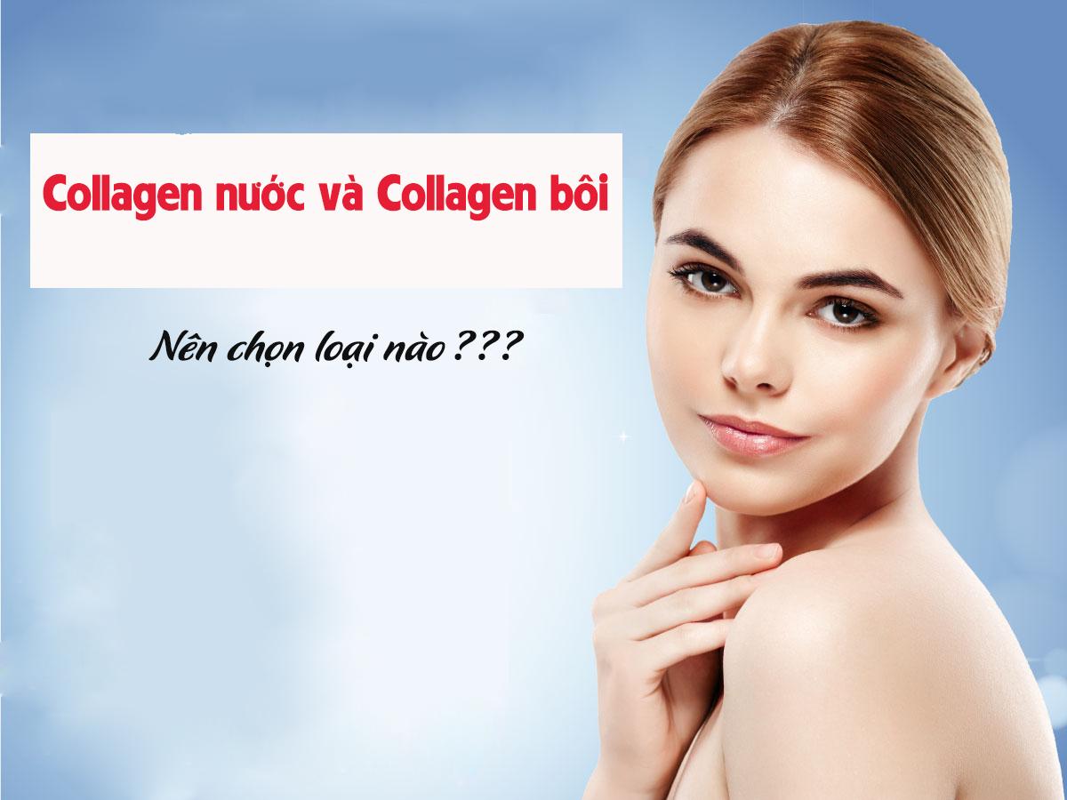 Nên chọn collagen nước hay collagen bôi?