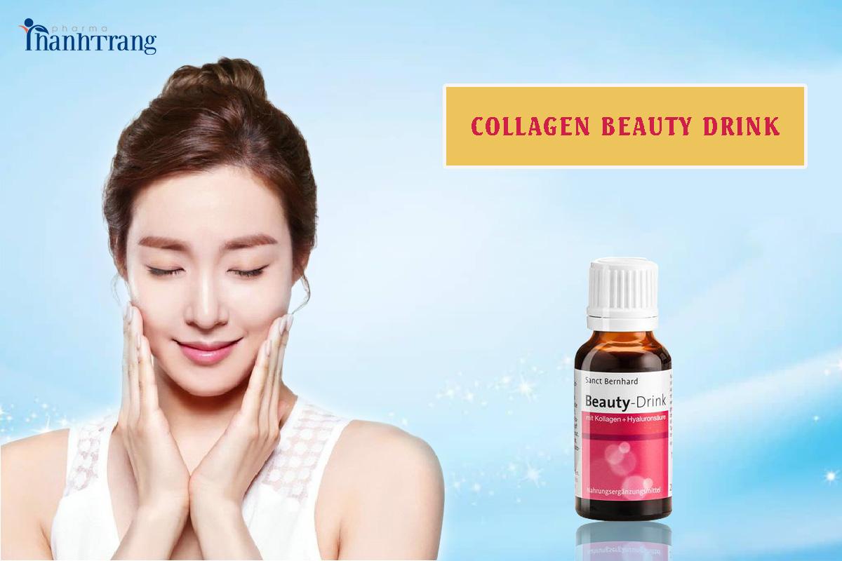 Nước uống collagen beauty drink / Giải pháp trẻ hóa làn da