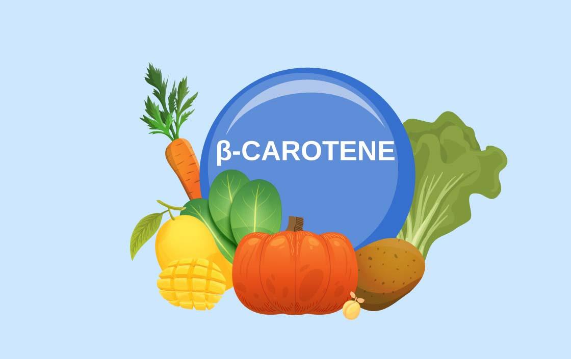 Tìm hiểu về Beta Carotene – tiền chất của Vitamin A