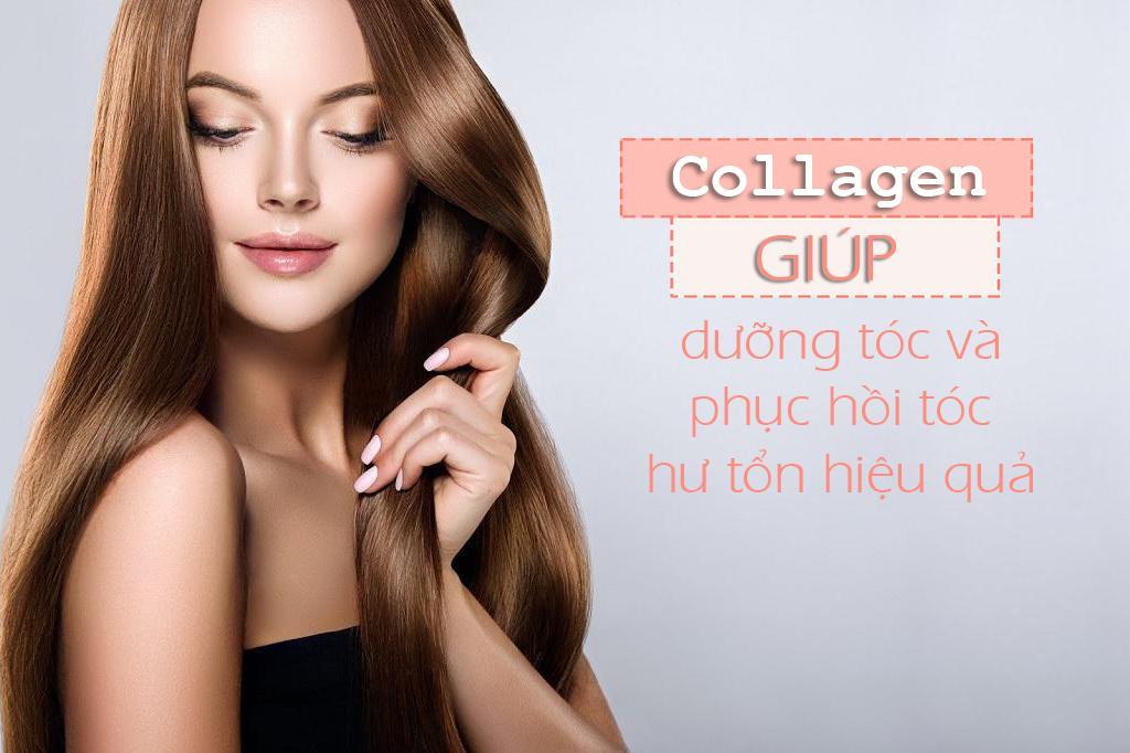 Vì sao uống collagen tốt cho mái tóc?
