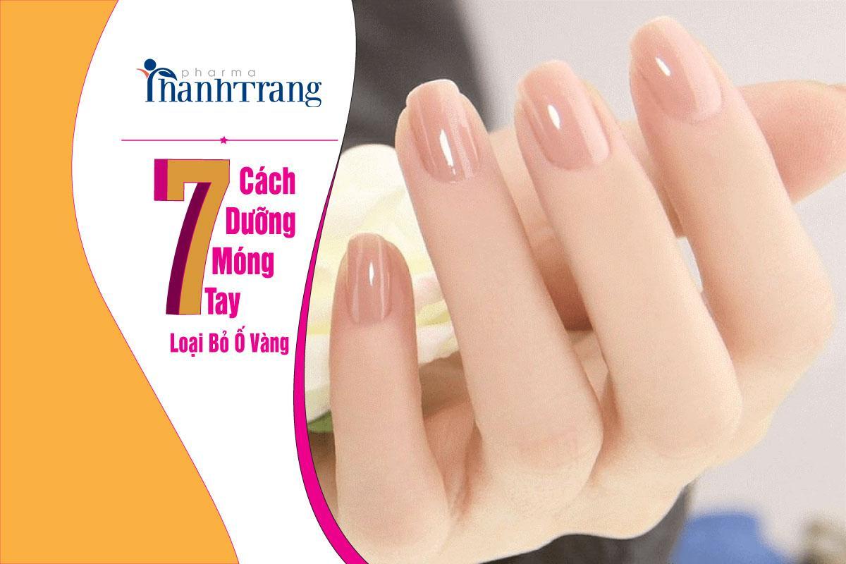 Nguyên nhân và cách loại bỏ móng tay bị ố vàng