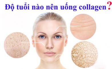 Bao nhiêu tuổi thì bạn gái cần bổ sung collagen?